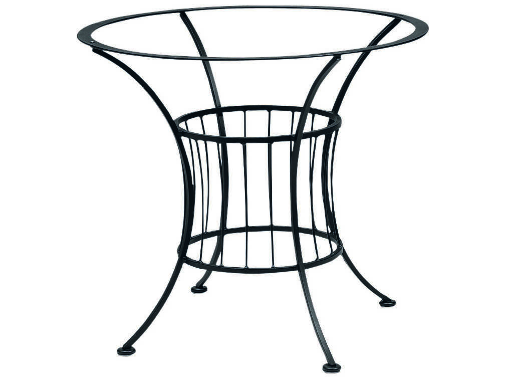 Woodard Easton Wrought Iron Dining Table Base Only 1n4800