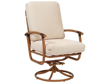 Woodard Glade Isle Replacement Cushion Swivel Rocker Dining Chair 1T0472CH