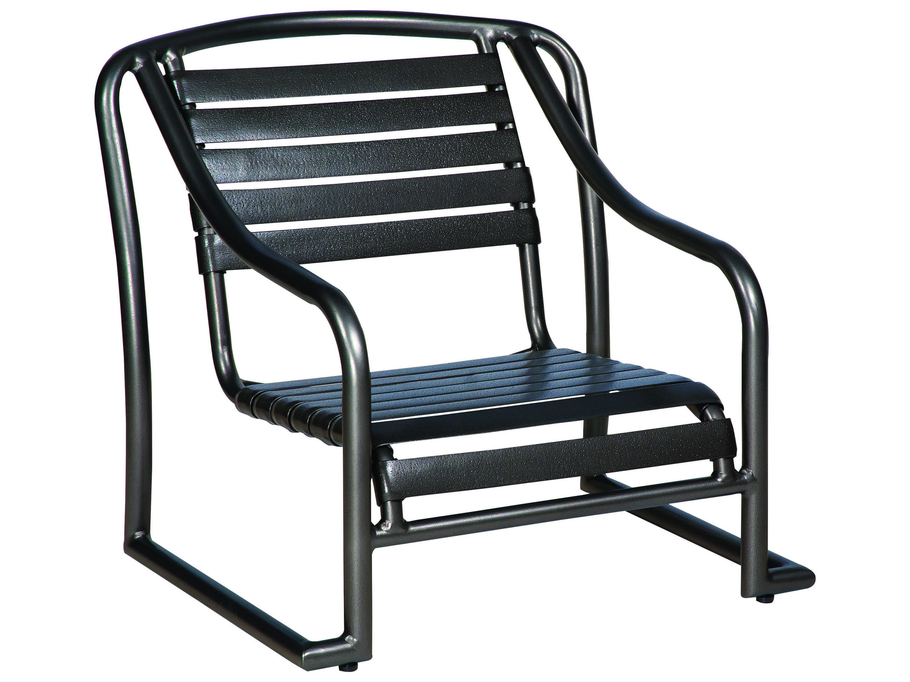 Woodard Baja Strap Aluminum Stackable Sand Chair 230450