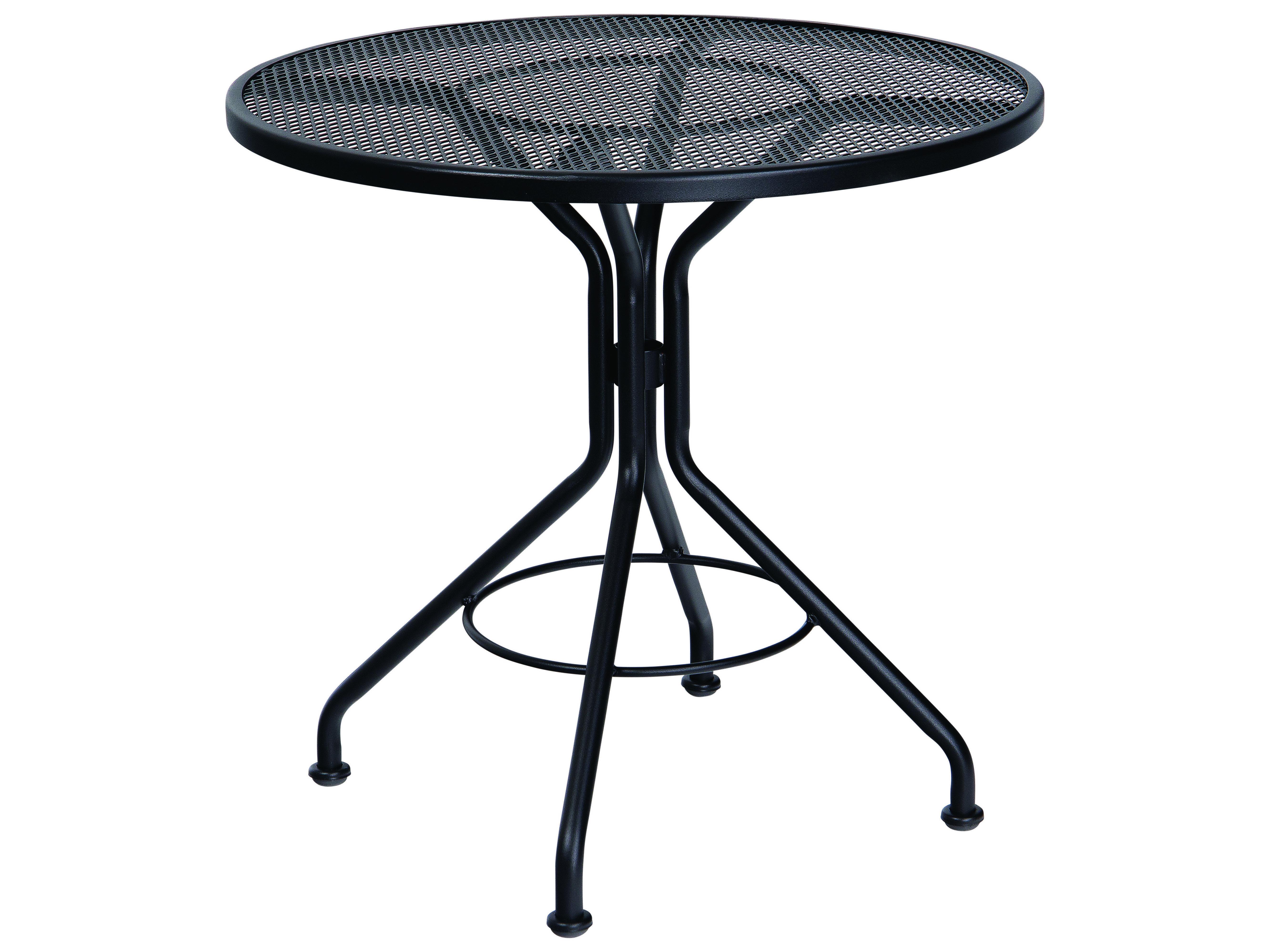 Woodard Wrought Iron 30 Round Bistro Table 280134
