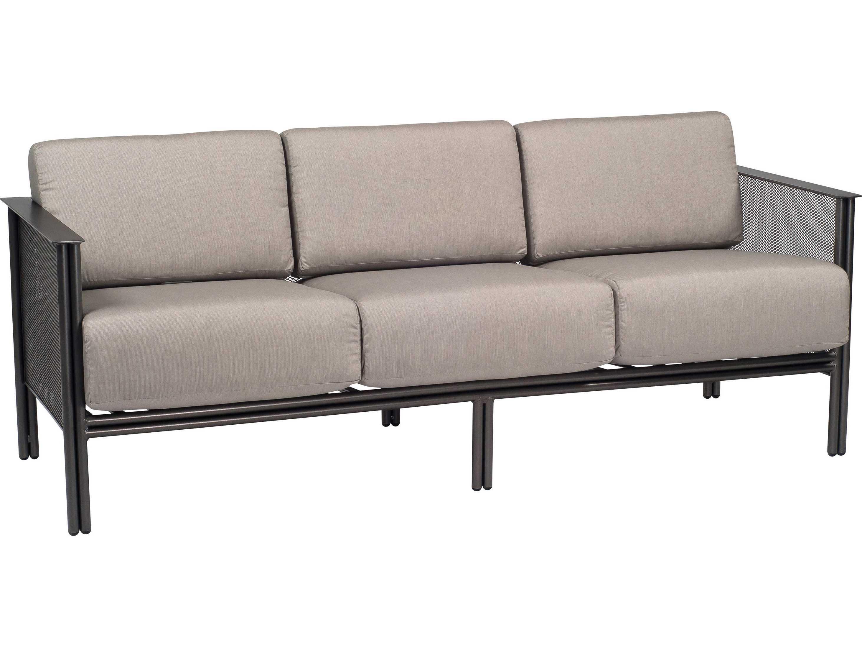 Woodard Jax Wrought Iron Sofa 2j0020