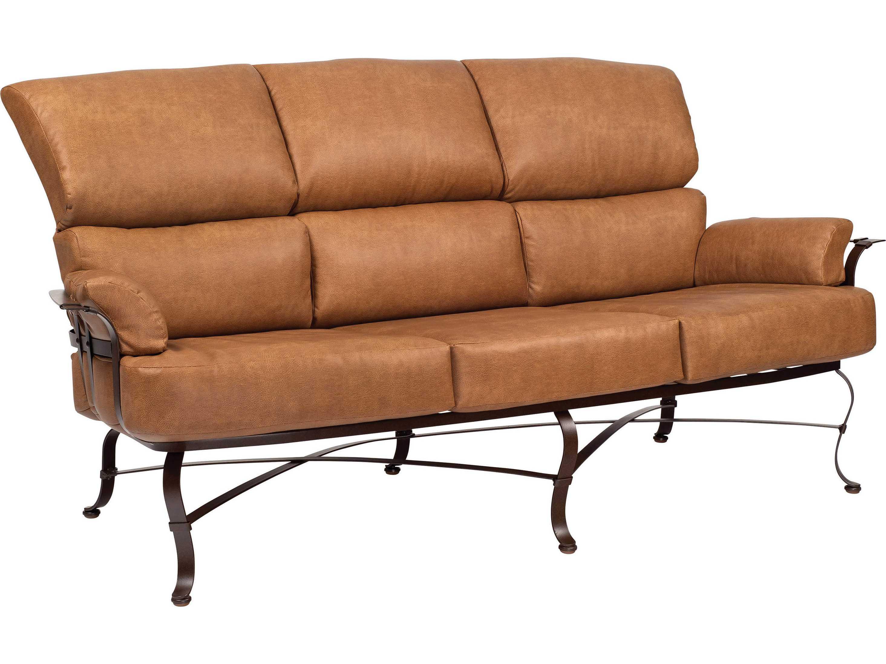 Woodard Atlas Wrought Iron Sofa 2l0020