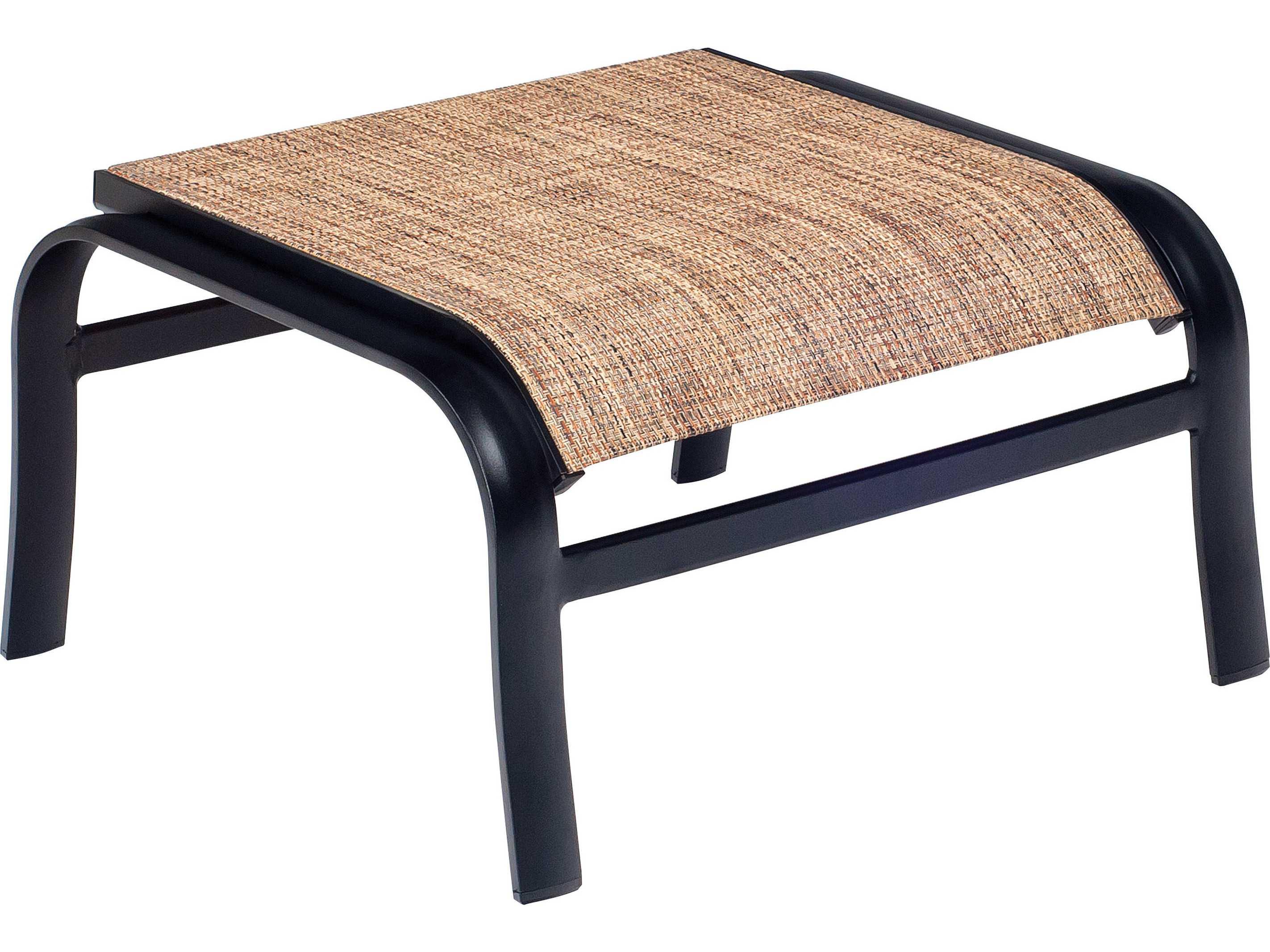woodard fremont sling aluminum ottoman wr2p0486 fremont sling