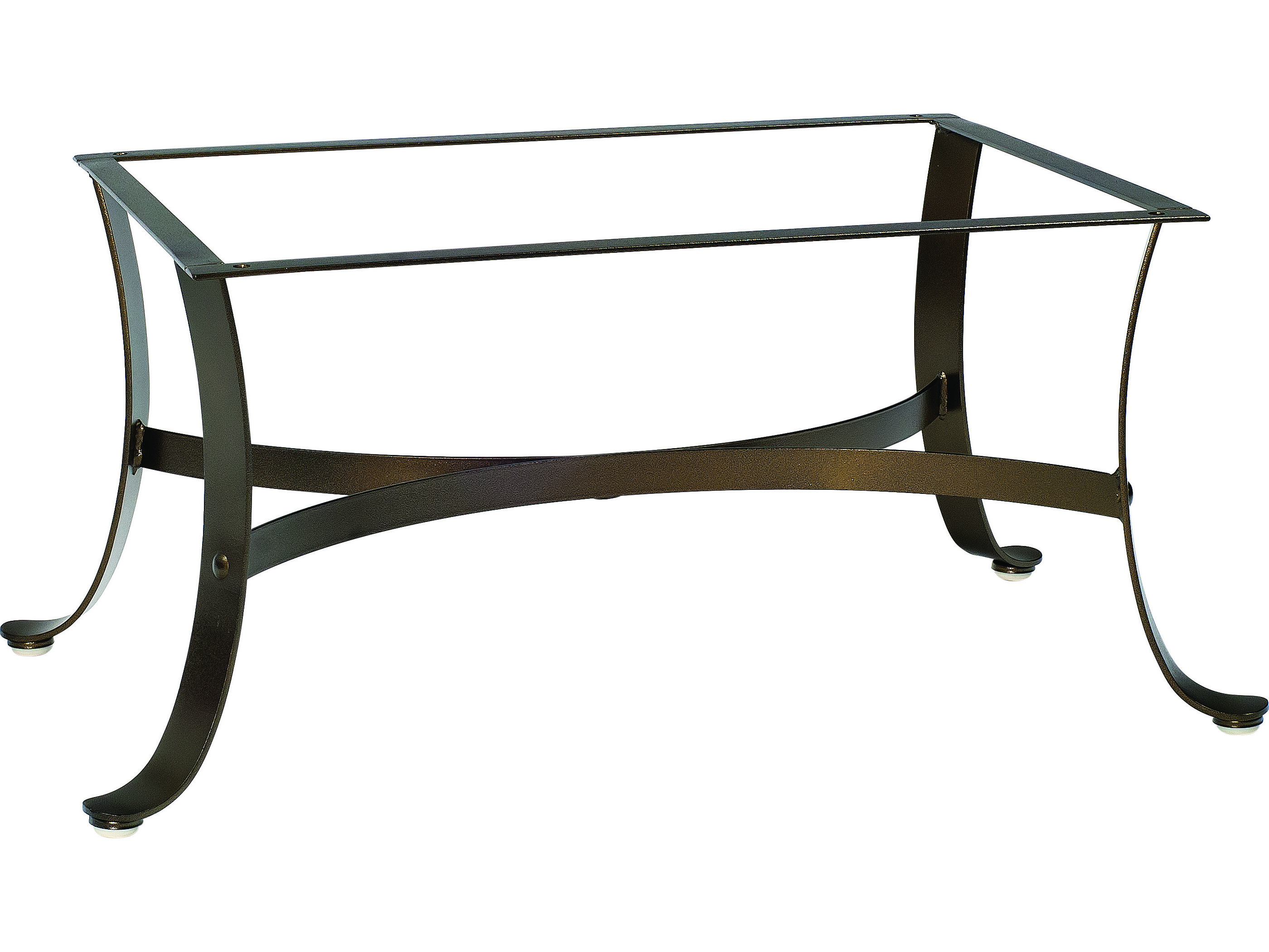 Woodard Cascade Wrought Iron Coffee Table Base 2w4400
