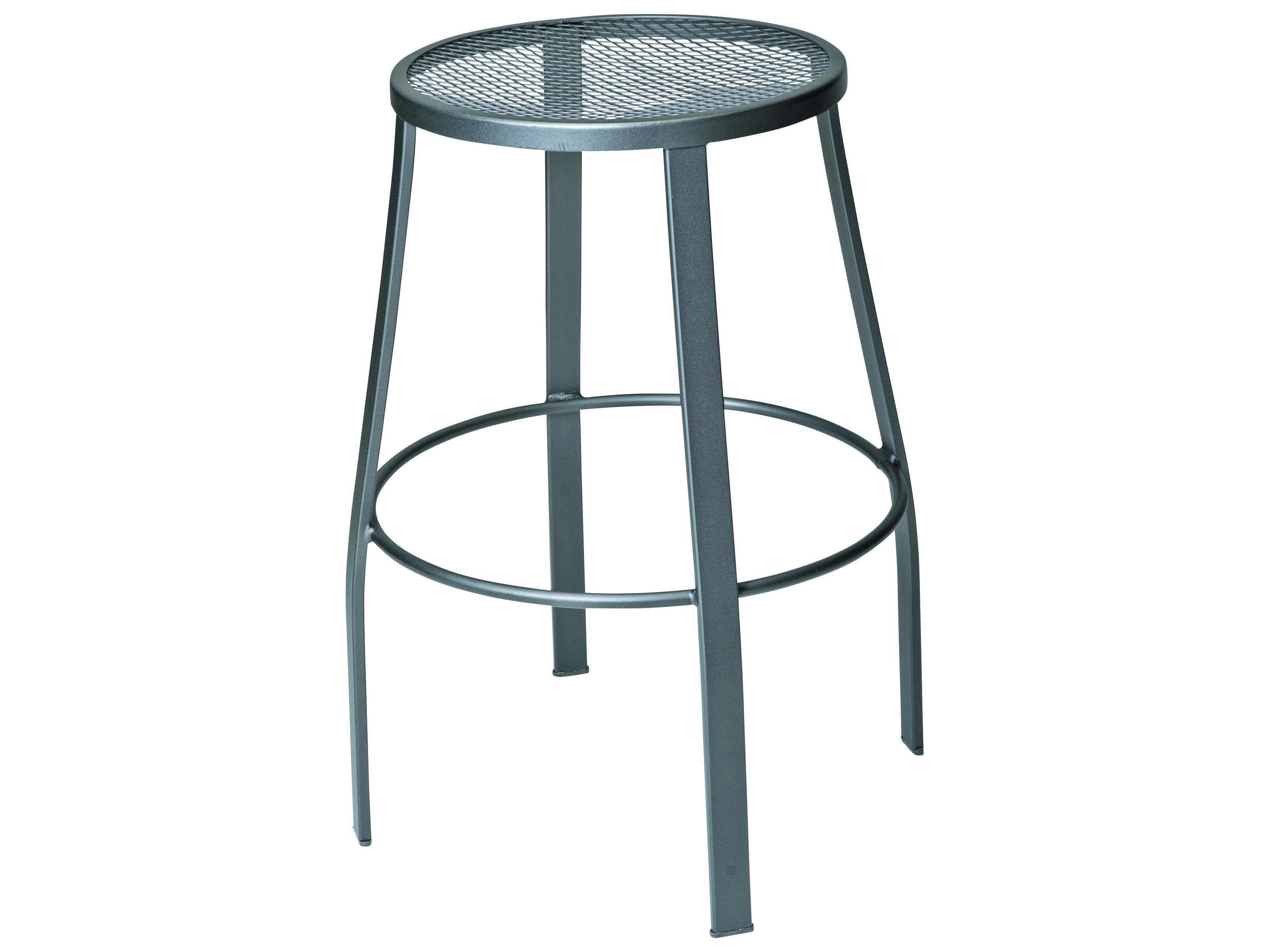 Woodard Mesh Seat Bar Stool 470281