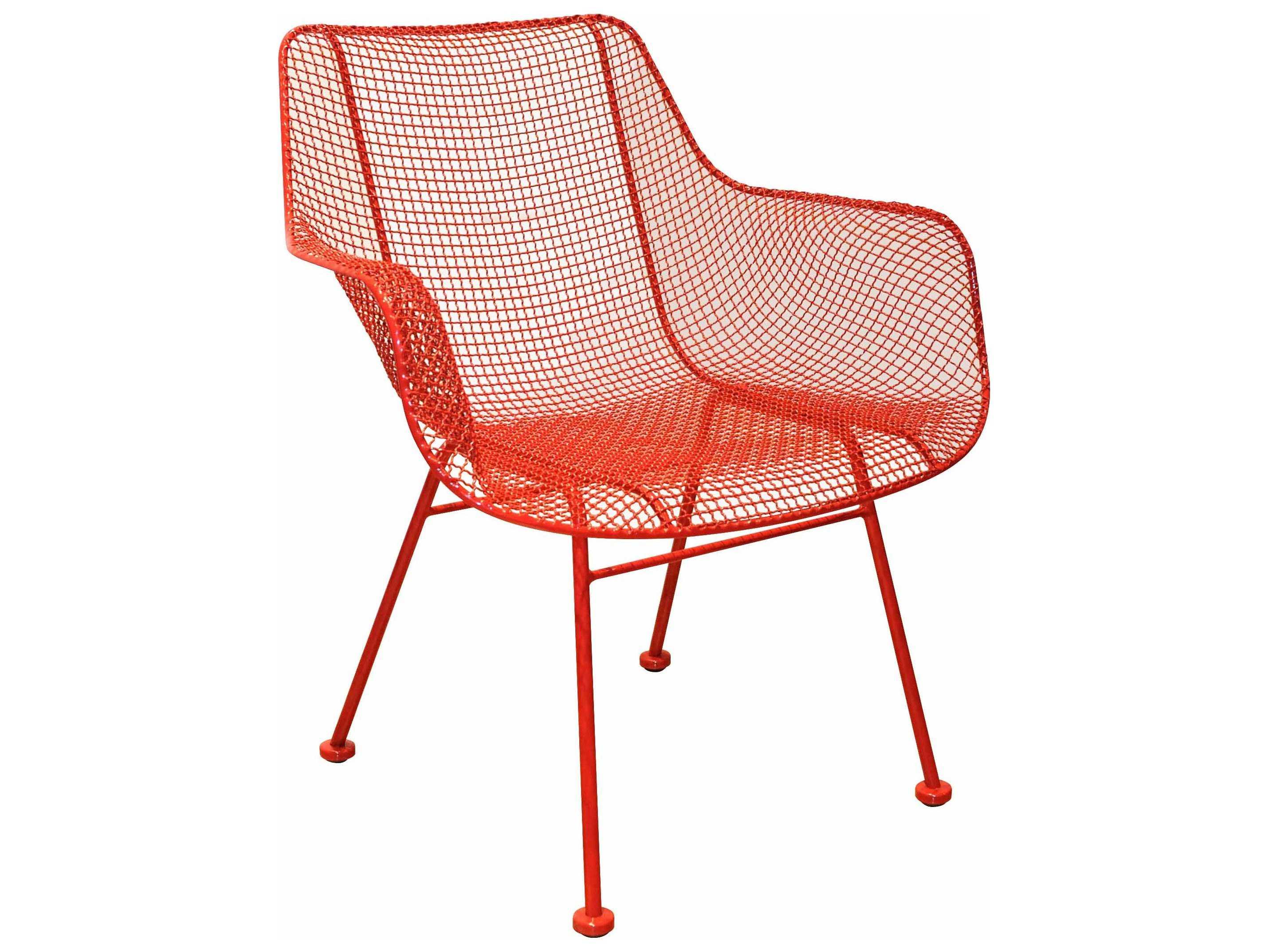 Woodard Sculptura Wrought Iron Occasional Chair 4g0010