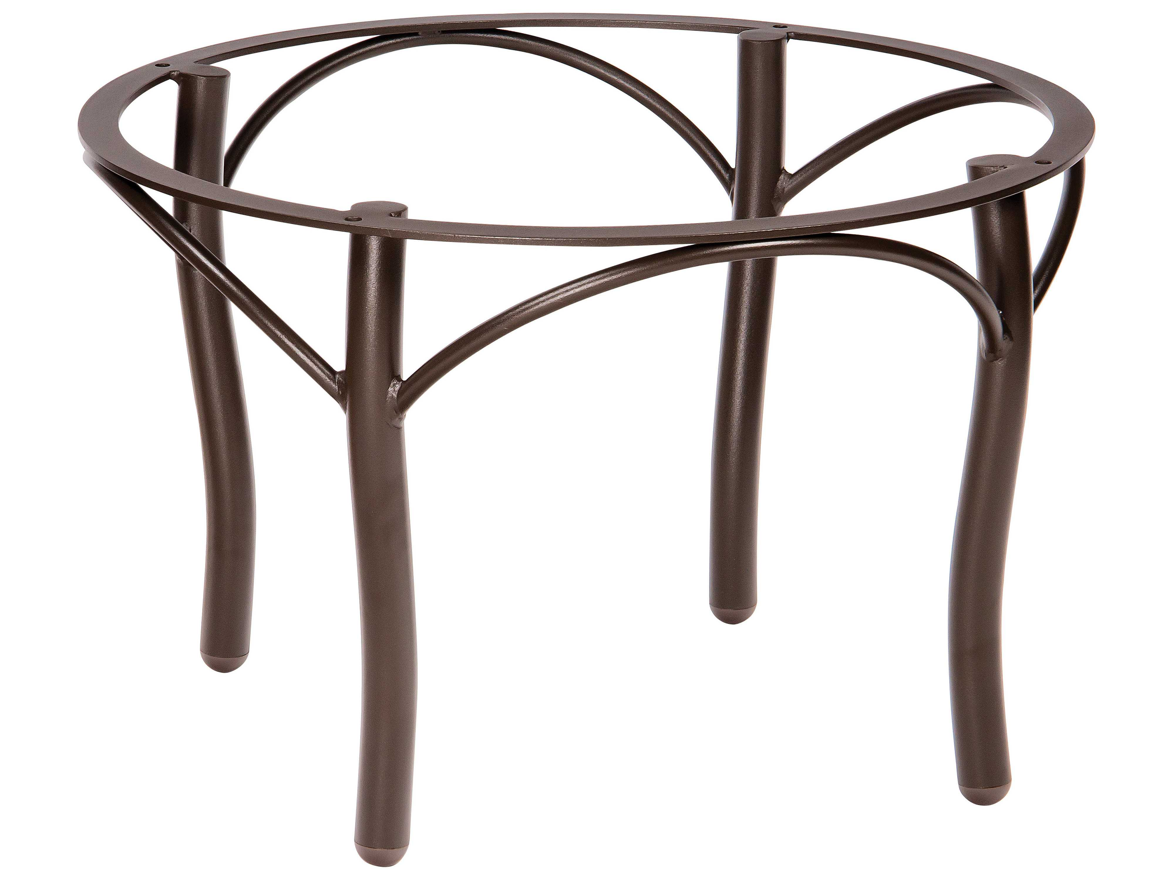 Woodard Tribeca Aluminum Round Coffee Table Base 5d3400