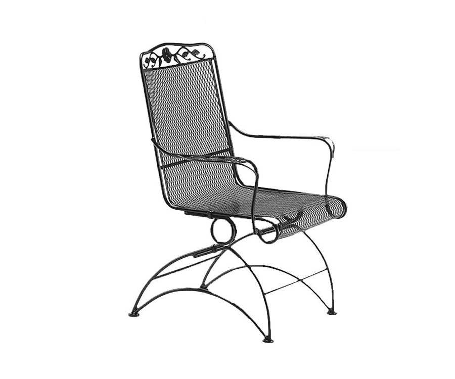 Patio Chair Replacement Mesh: Woodard Windflower Mesh Replacement Cushion High- Back