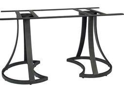 Woodard Aluminum Mainstreet Large Dining Table Base