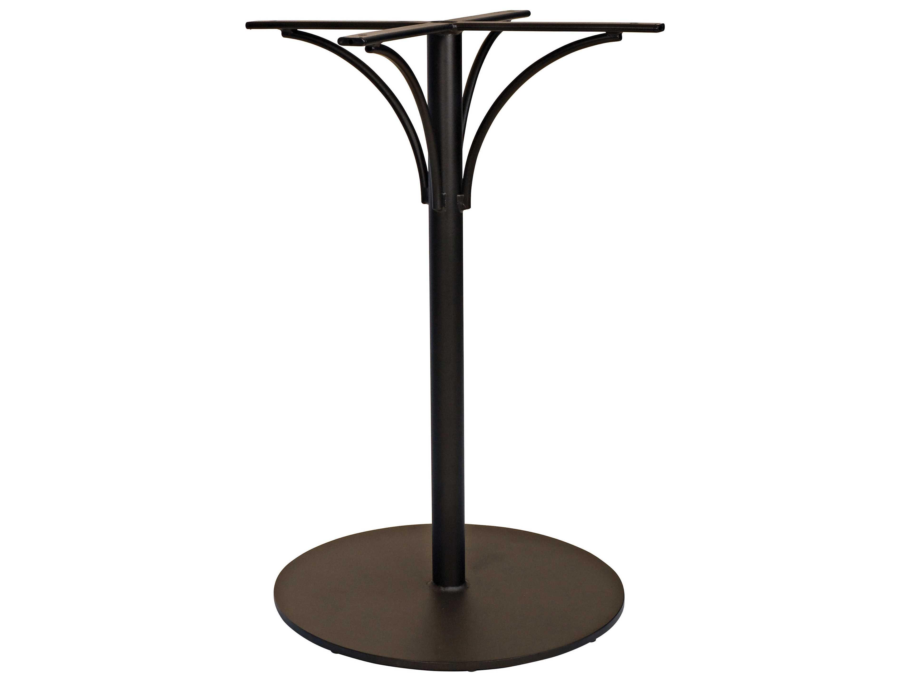woodard aluminum tables patio table base 6t6600