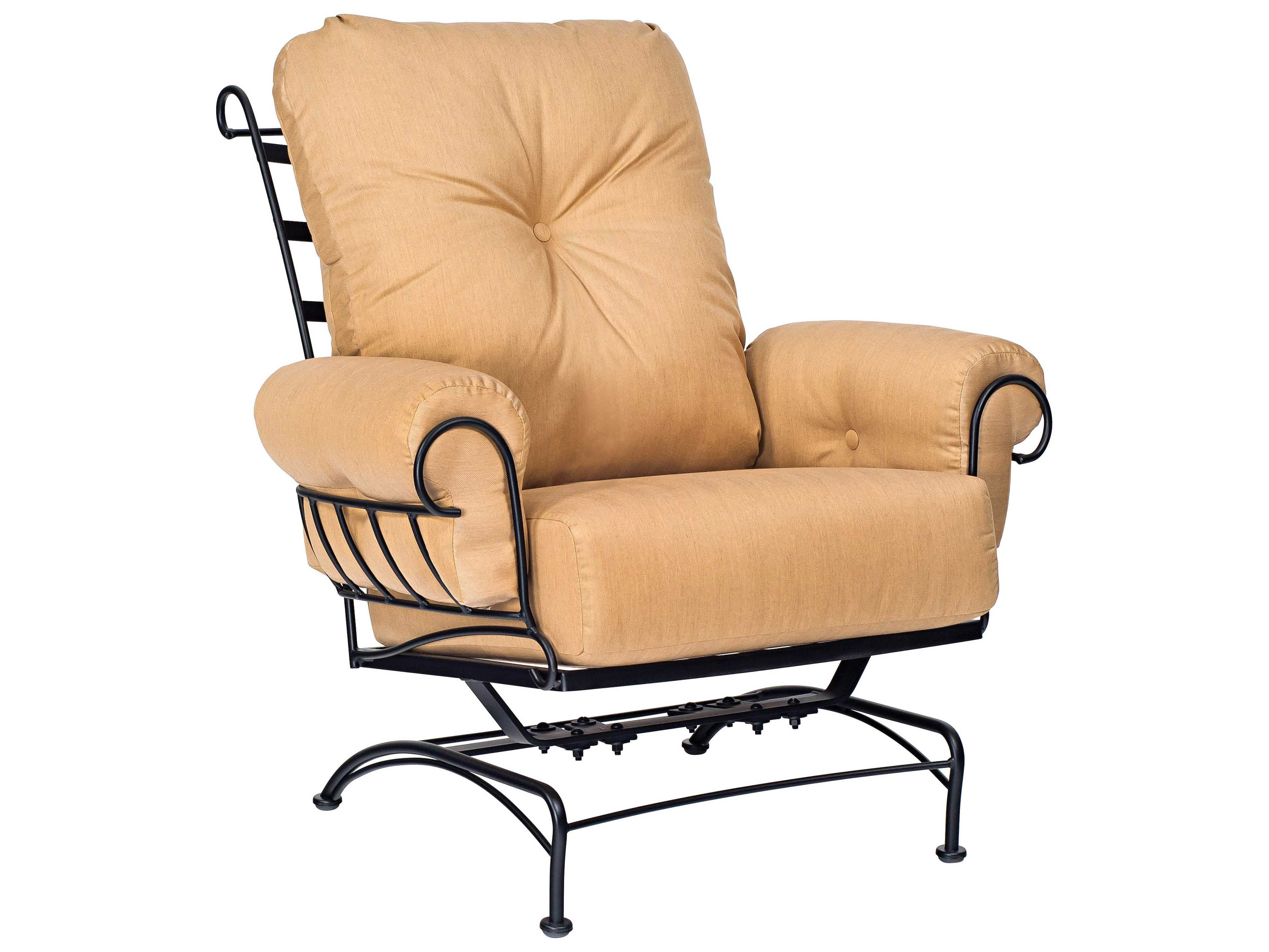 Woodard Terrace Cushion Wrought Iron Spring Lounge Chair FREE SHIPPING From  $900.90