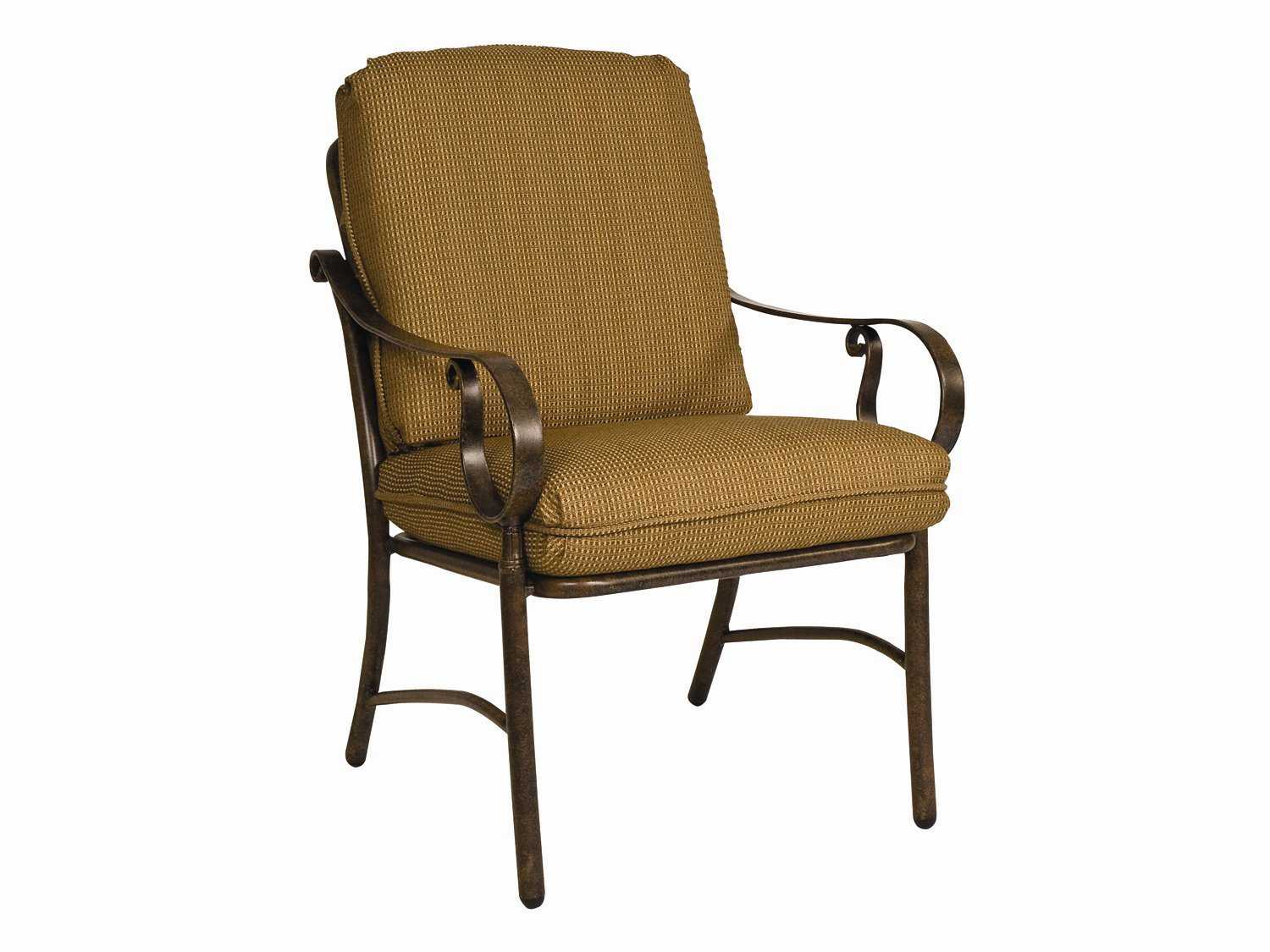 Woodard bungalow replacement chair seat back patio Replacement cushions for patio furniture