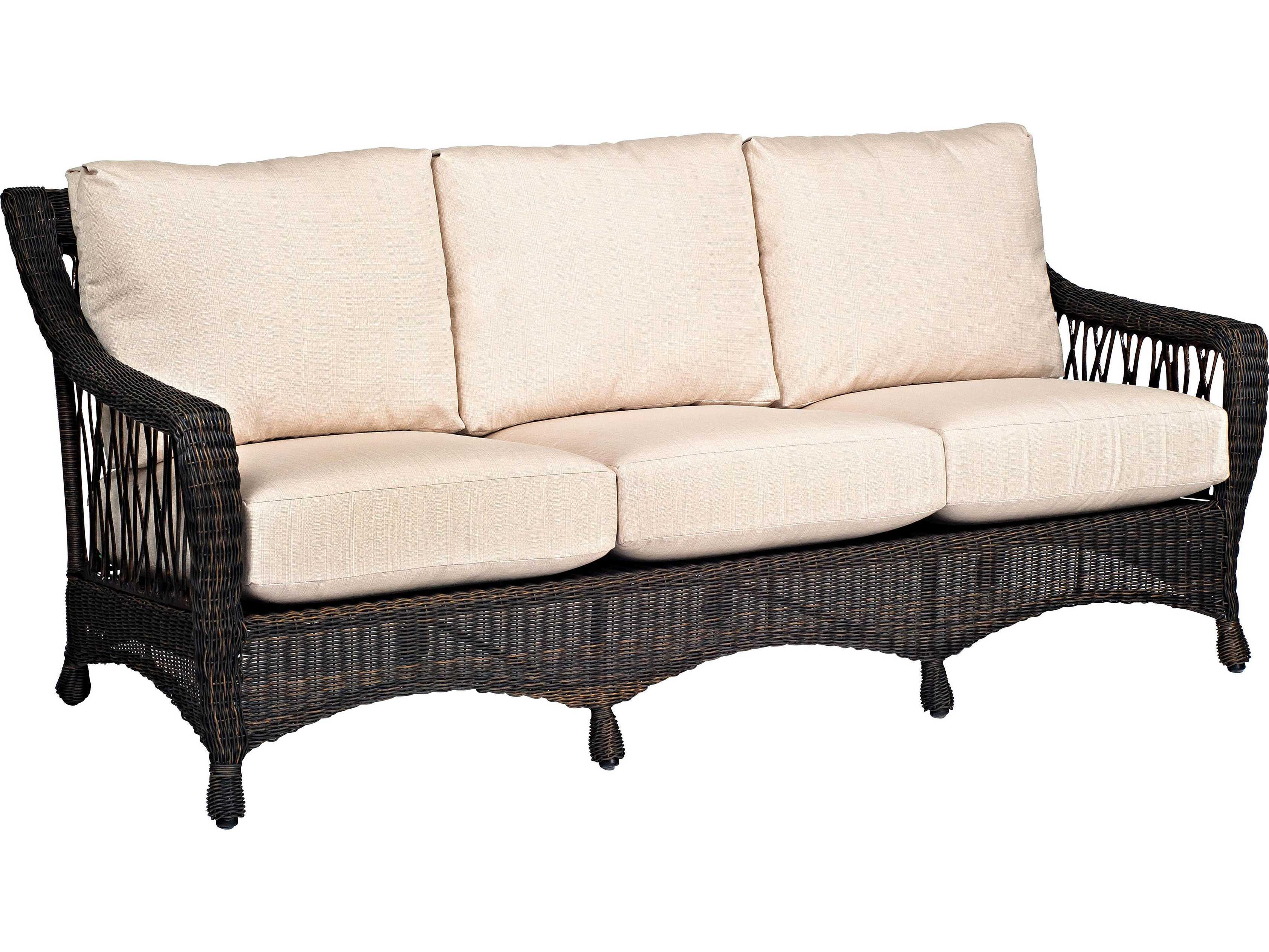 woodard serengeti sofa replacement cushions 91w020. Black Bedroom Furniture Sets. Home Design Ideas