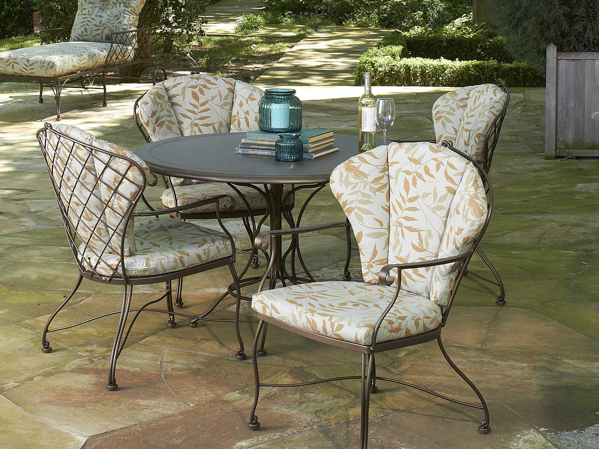 Woodard patio furniture cushions woodard brayden for Patio furniture cushions