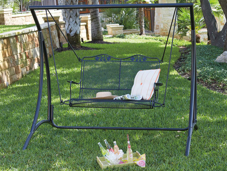 Woodard Briarwood Wrought Iron Swing Stand Stb179
