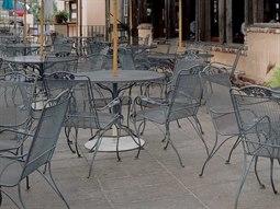 Woodard Briarwood Wrought Iron Casual Dining Set