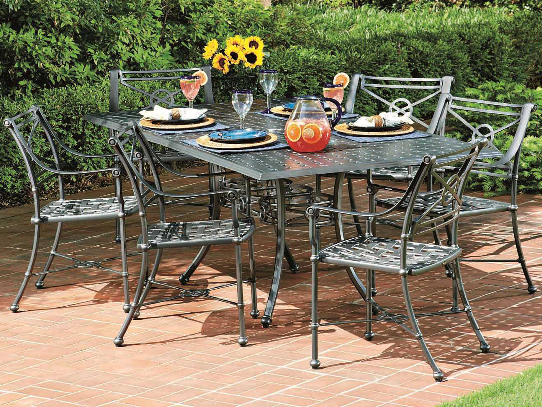 Woodard Delphi Cast Aluminum Dining Chair 850410