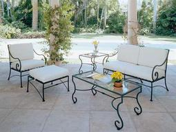 wrought iron lounge sets
