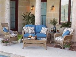 Woodard Whitecraft Sommerwind Wicker Lounge Set