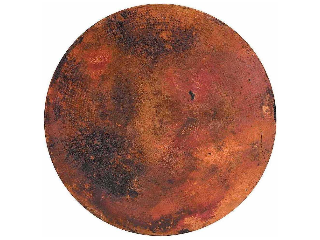 Winston Alternative Stone 48 Round Copper Table Top 8cnd 48