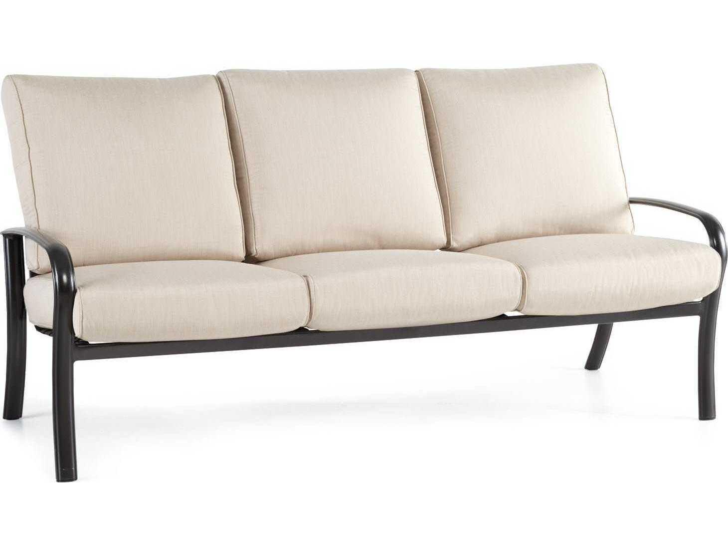 Winston Savoy Cushion Aluminum Sofa M24003