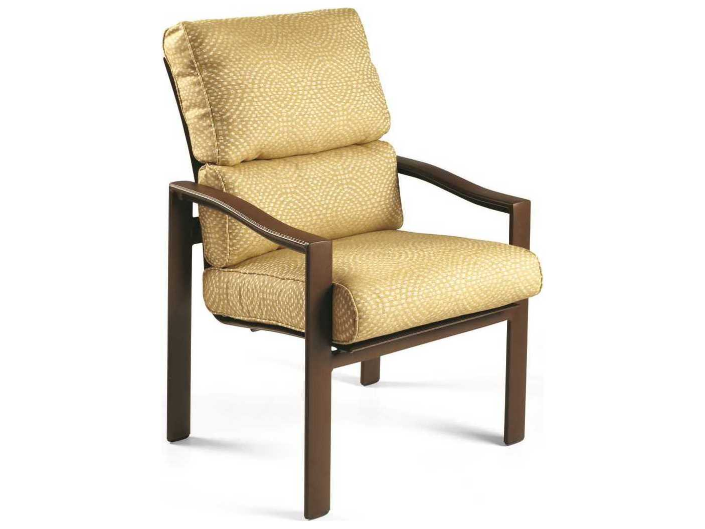 Winston Belvedere Cushion Aluminum High Back Dining Chair