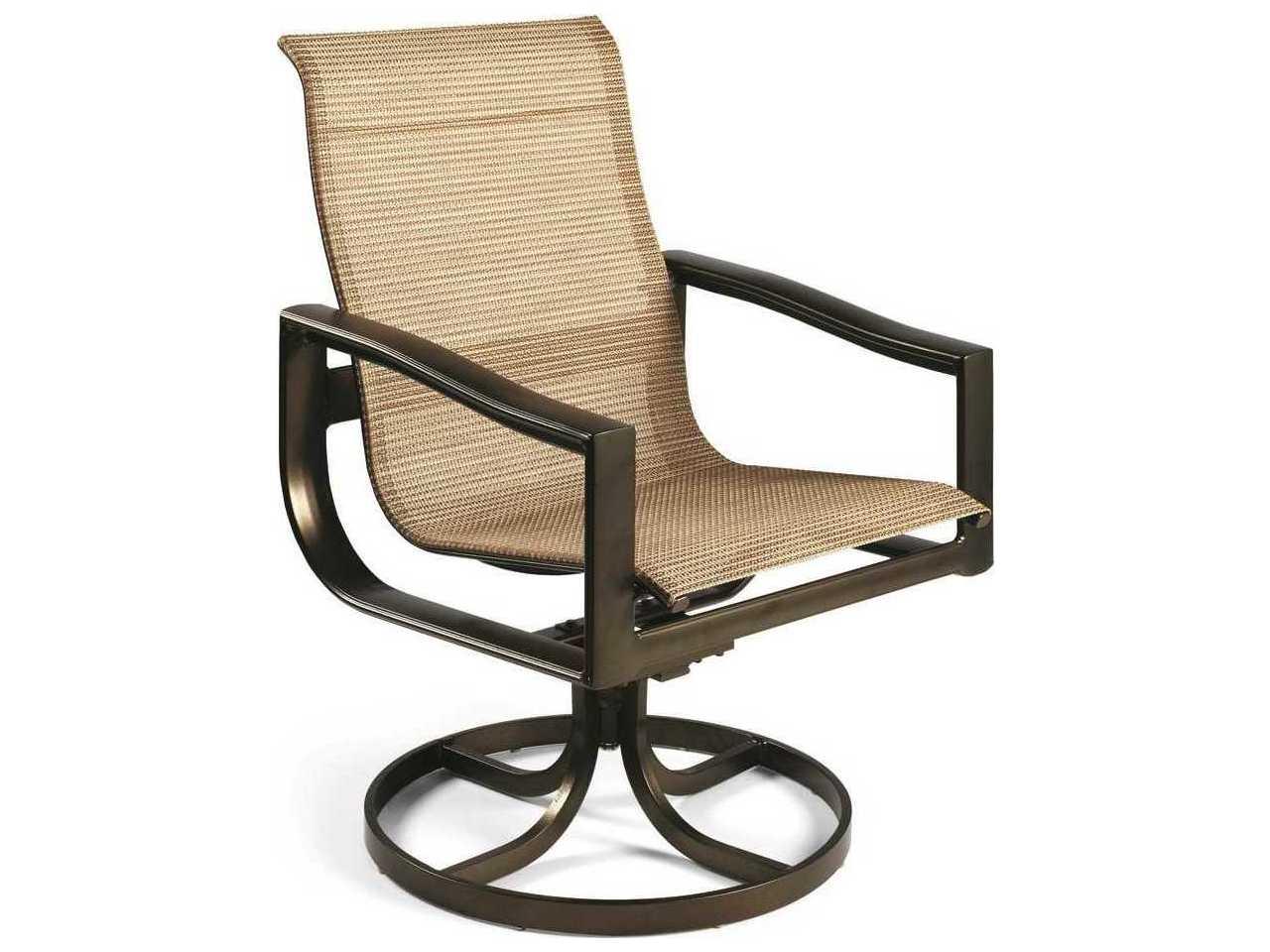 Winston Belvedere Sling Aluminum Swivel Tilt Chair