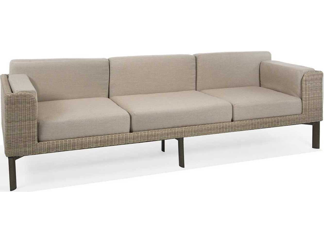 Winston Banyan Bay Cushion Wicker Stationary Sofa M74003