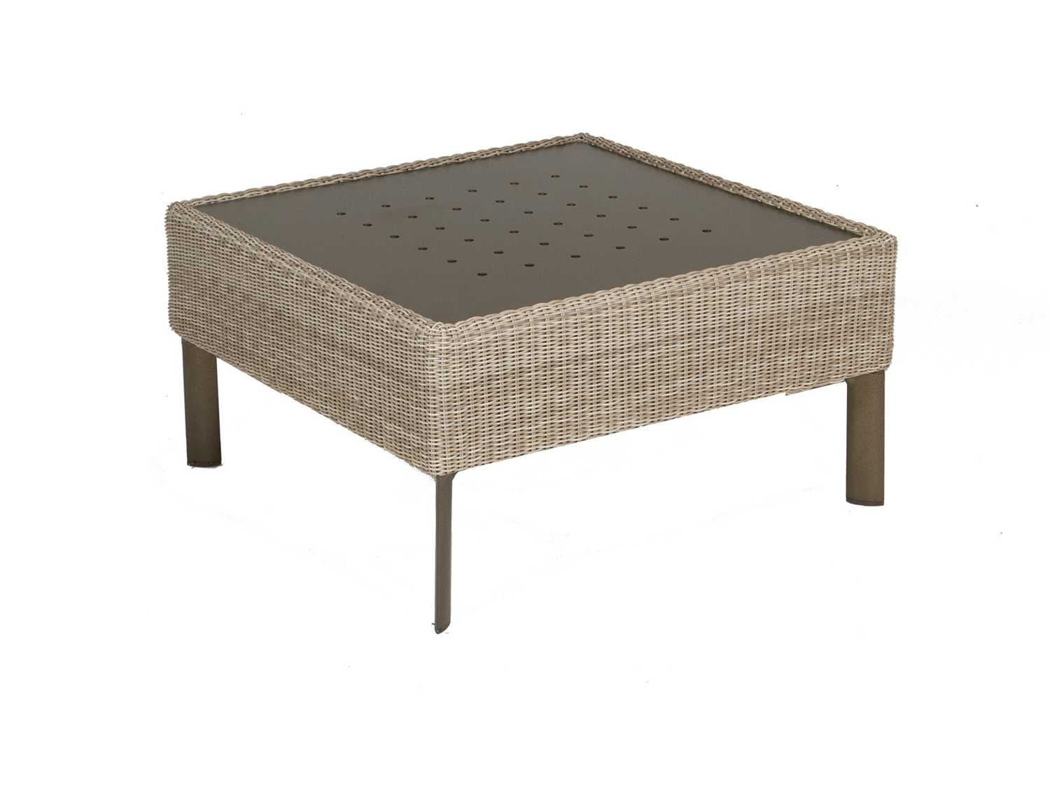 Winston Banyan Bay Wicker 32 5 39 39 Square Cocktail Table With Stamp Top M74007