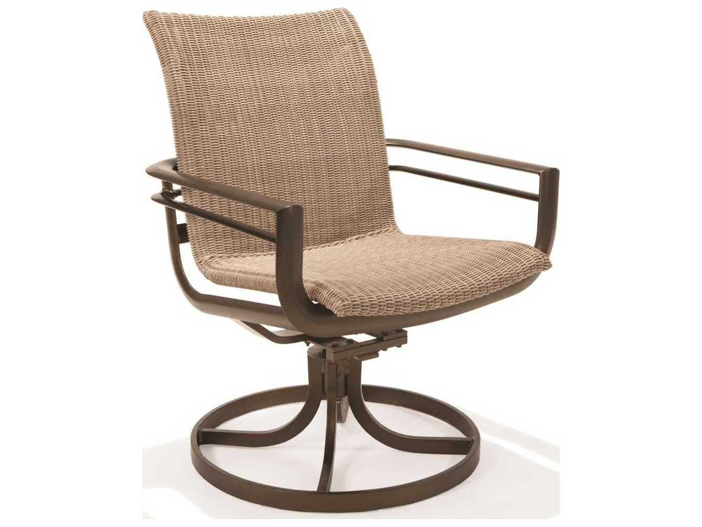 Winston Southern Cay Sling Aluminum Armless Chaise Lounge: Winston Southern Cay Woven Aluminum High Back Swivel Tilt