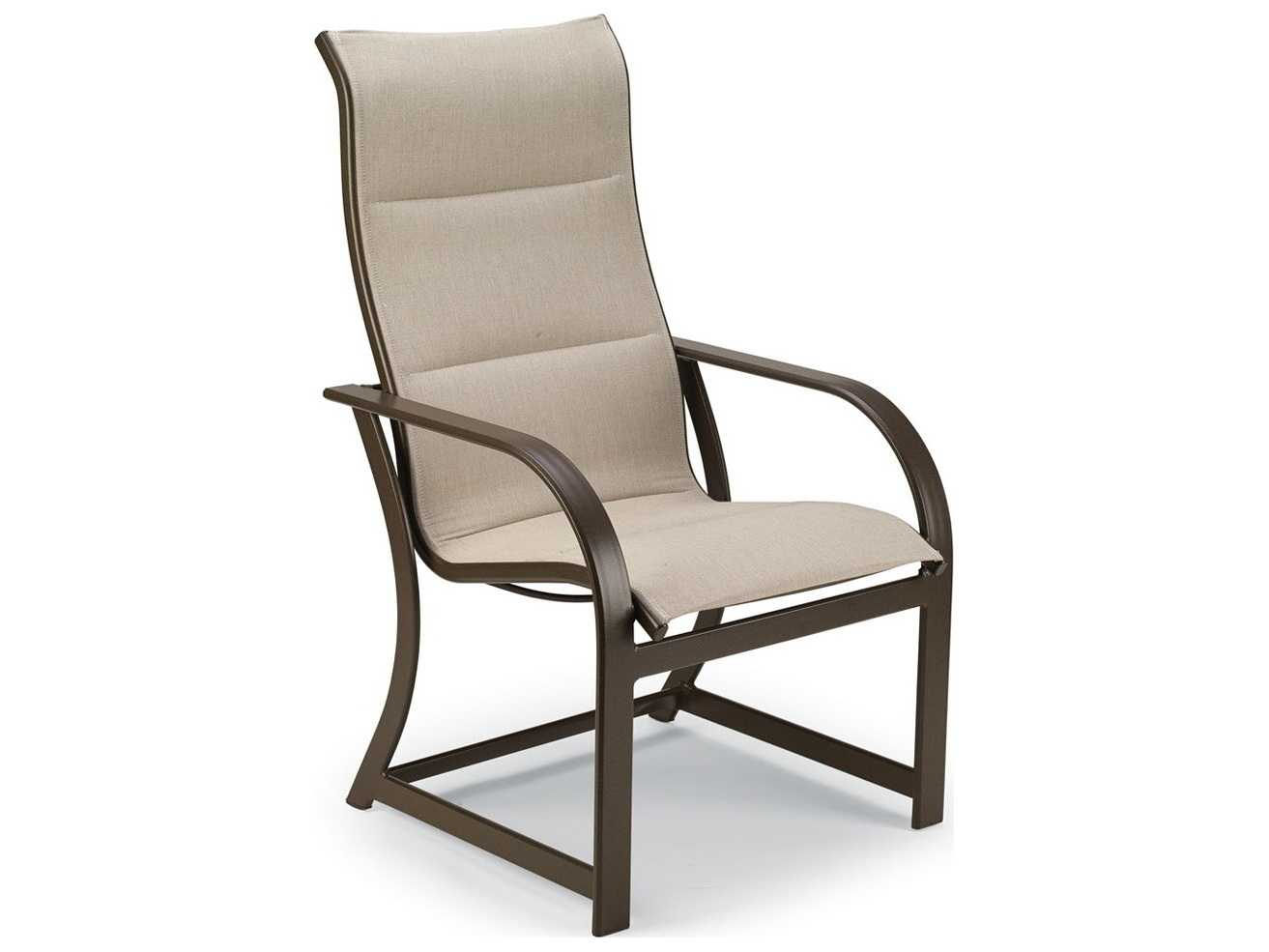 Winston Palazzo Sling Cast Aluminum Arm Chaise Lounge: Winston Key West Padded Sling Aluminum Ultimate High Back