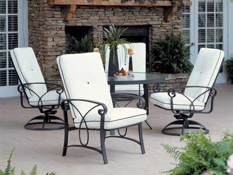 Winston Palazzo Cushion Cast Aluminum Dining Set