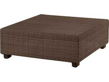 Whitecraft Montecito Wicker Square 40 Coffee Table S511211