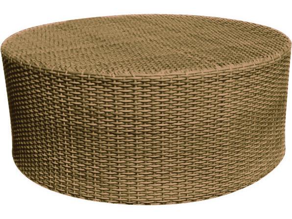 Whitecraft Saddleback Wicker 36 Round Coffee Table S523215