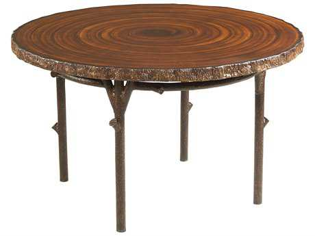 Whitecraft Chatham Run Heartwood 48 Round Faux Top Dining Table
