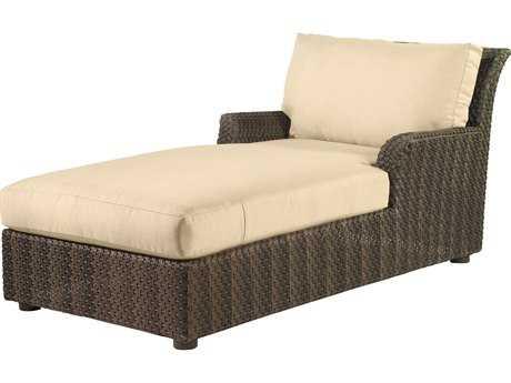 Whitecraft Aruba Wicker Chaise Lounge