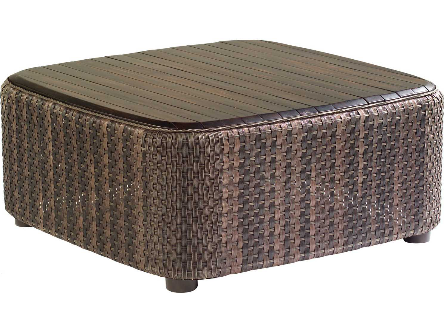 Whitecraft Aruba Wicker 36 Square Coffee Table S530211