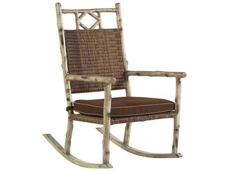 Whitecraft River Run Wicker Rocker Lounge Chair