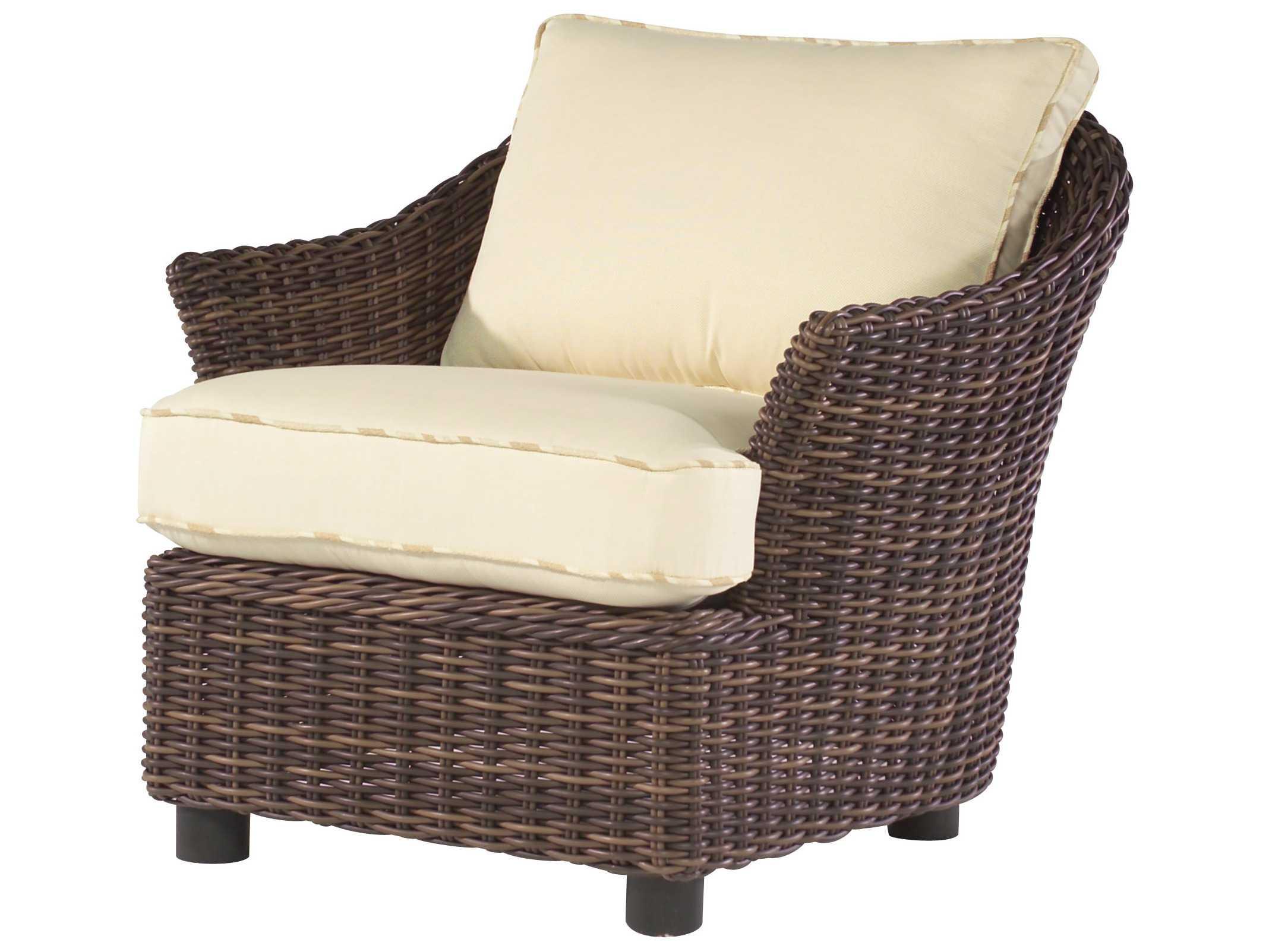 Whitecraft Sonoma Wicker Lounge Chair