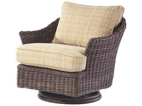 Whitecraft Sonoma Wicker Swivel Lounge Chair