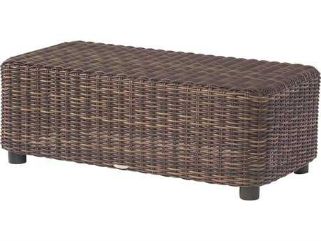 Whitecraft Sonoma Wicker 48 x 24 Rectangular Coffee Table