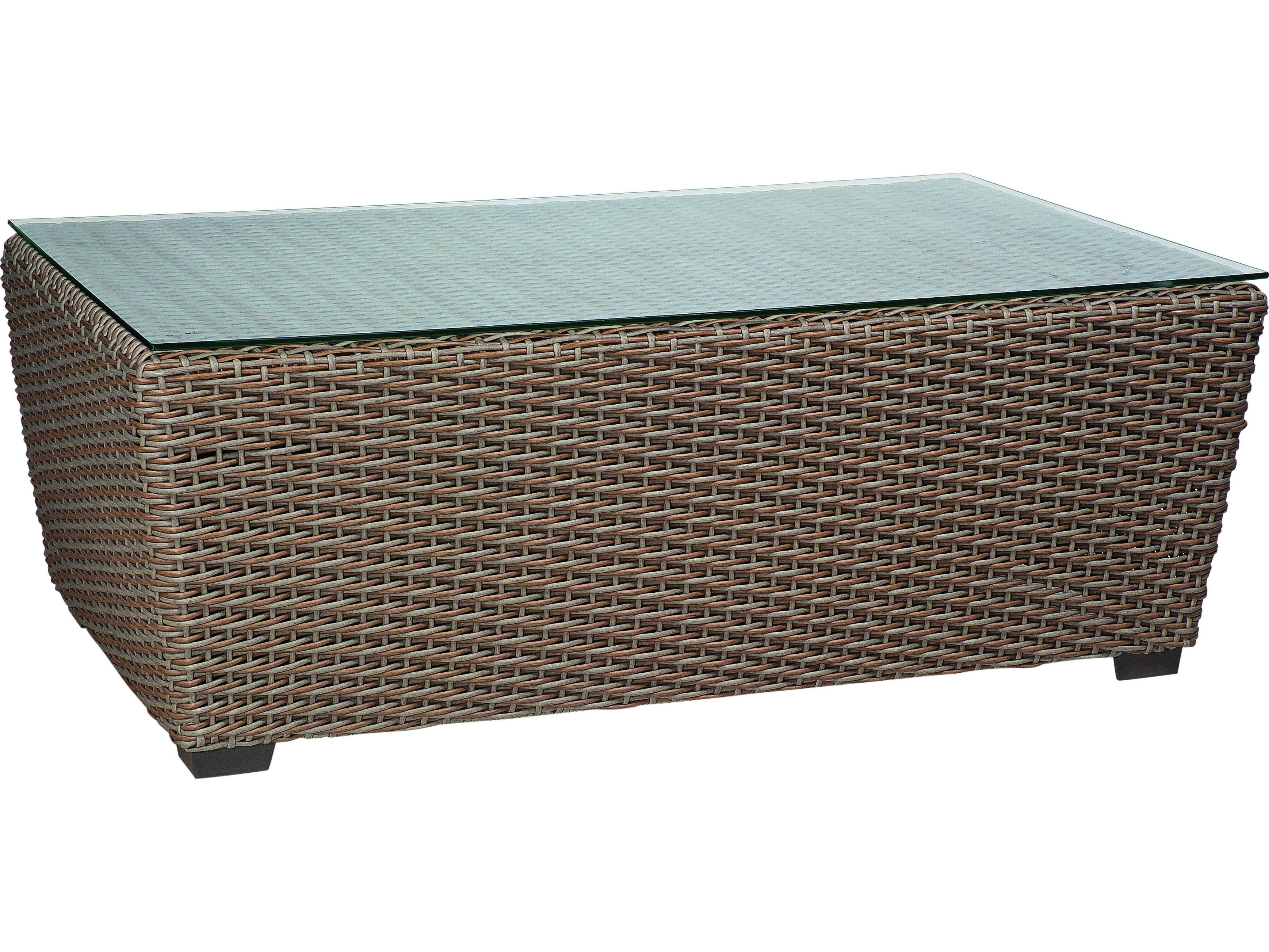 woodard cortland woven wicker round weave lounge set. Black Bedroom Furniture Sets. Home Design Ideas