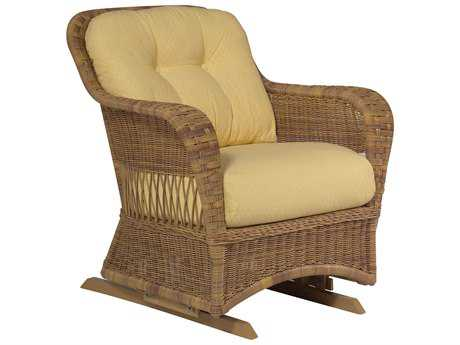 Whitecraft Sommerwind Wicker Glider Lounge Chair