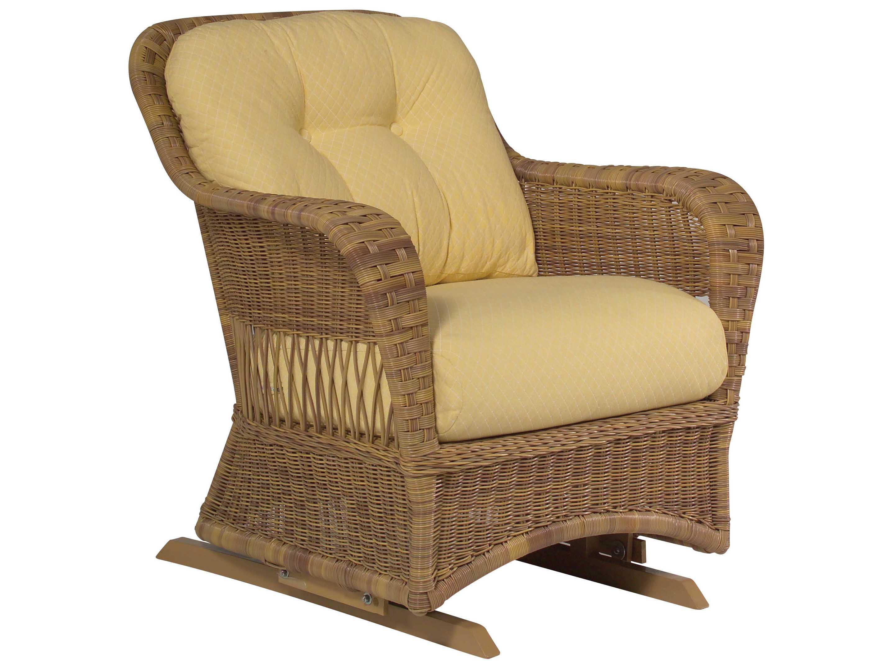 Whitecraft Sommerwind Wicker Glider Lounge Chair