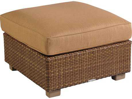 Whitecraft Sedona Wicker Ottoman