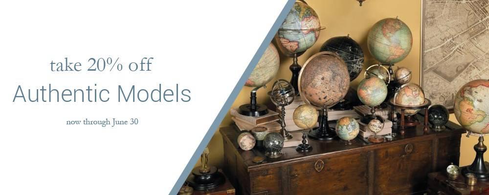 Authentic Models June Sale