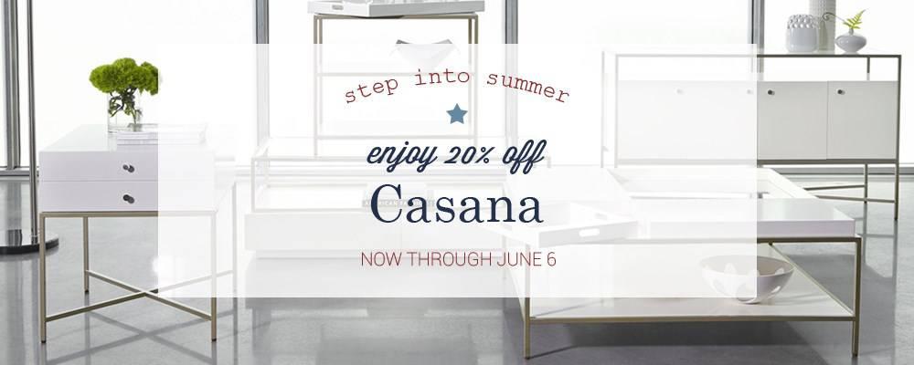 Casana Furniture Memorial Day Sale