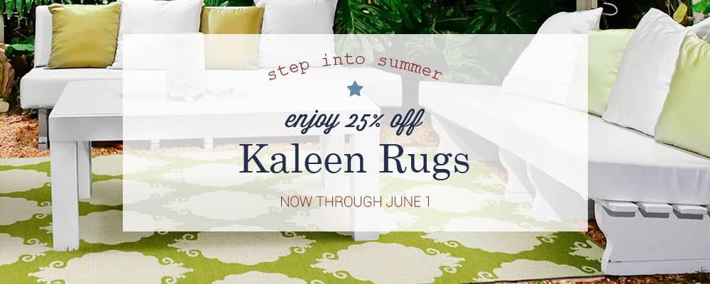 Kaleen Memorial Day Sale