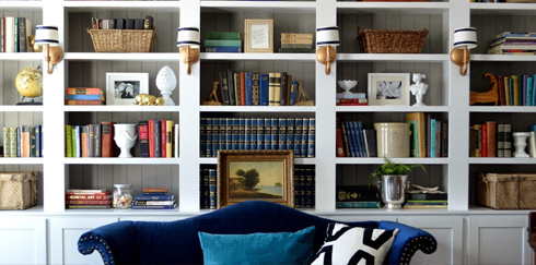 We've put together a how-to guide for curating your own stylish bookcase that isn't simply a place to store your books.