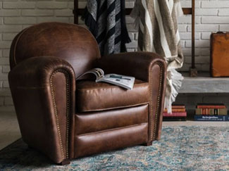 From style to comfort, there are many factors to consider when buying leather furniture. Learn more about leather benefits, types, treatments, and care.